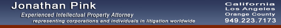 business Attorney, patent, copyright, trademark, intellectual property litigation